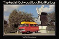 Postcard 1979 FDI Redhill to Outwood Royal Mail Postbus Windmill Dodge MINT 30X