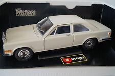 Bburago Burago maqueta de coche 1:18 1:22 Rolls-Royce Camargue cod. 3001 * en OVP *
