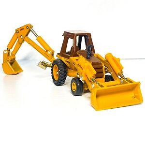 🙊 Vintage🙈Ertl 🙉 Case 580E Construction King Front End Loader Backhoe