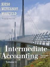 Intermediate Accounting 13th Edition, Volume 1 by Terry D. Warfield, Donald...