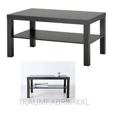 IKEA Lacca Tavolino da salotto 90x55 cm Tavolo nero Comò Lounge