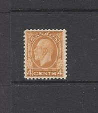 CANADA: 1932-33 KGV 4¢ Yellow-brown definitive SG 322 £50, MLH.