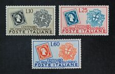 CKStamps: Italy Stamps Collection Scott#587 589 Mint H OG