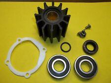 Rebuild, Repair kit for Johnson F6B-9 raw water impeller pump 812b bearings seal