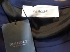 £450 Pringle Of Scotland Navy Blue Dress Suit uk 10 or 12 BNWT