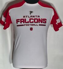 Atlanta Falcons ATL NFL Football Team Logo Youth Large 14/16 White Red T-shirt