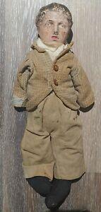 "Vintage 1915 Amberg Charlie Chaplin 15"" Composite Doll"