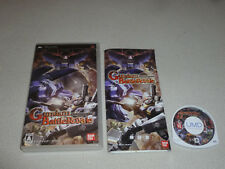 RPG PSP GAME GUNDAM BATTLEROYALE BANDAI NAMCO COMPLETE W MANUAL JAPAN IMPORT >>>