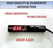 NEW APEXI TURBO TIMER NA TURBO BLACK CONTROL RED LED EVO WRX STI RX7 R32