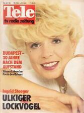 Tele Schweiz 86/42 Ingrid Steeger,Audrey Landers,Edward Fox