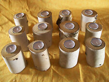 Birch tea light candle holders (12)