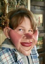 PINOCCHIO Pupazzo Ventriloquo mezza maschera