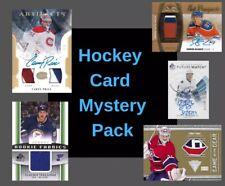 Hockey Card Mystery Pack 2 Hits 50$-200$ Bv