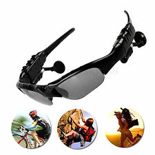 Wireless Sunglasses Stereo Bluetooth Headset For Car Driver Trucker Motorcycle