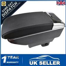 UK Armrest Central Console Duel Storage Box Leather For Suzuki Swift 2005 - 2010