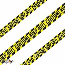 6.1m Halloween Party Caution Keep Out Warning Tape Streamer Banner Decoration