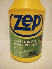 Case Of 4 Zep Commercial High Traffic Floor Polish 41 Gal
