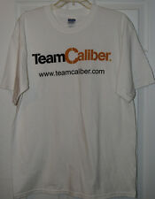 NWOT White Team Caliber t shirt size Large NASCAR