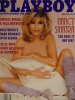Playboy May 1995 | Nancy Sinatra Cynthia Brown Jeannie Buss    #1120+