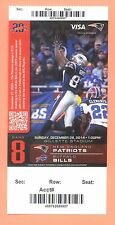 Bills  Patriots 2014 Super Bowl Championship ticket David Givens photo Tom Brady