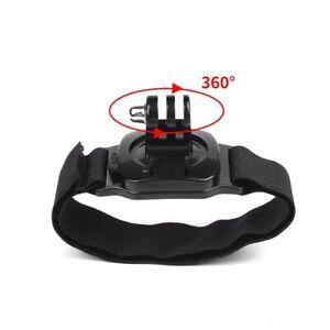360 Degree Rotation Hand Wrist Strap Mount fr Gopro Hero 9 8 7 5 Black Xiaomi Yi