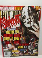 Hit Parader Magazine Nov November 2005 #492 Slipknot