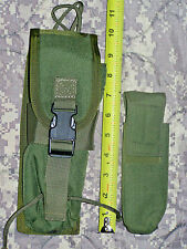 EAGLE INDUSTRIES OLD GEN (RARE) RADIO W/UTILITY POUCH OD GREEN  NSW CAG SEAL