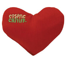 COSMIC OURPETS 100% CATNIP FILLED HEART CRUSH CAT TOY FREE SHIPPING IN USA