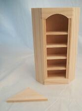 Angolo Libreria 5026 Casa Delle Bambole Miniatura 1/12 Scala Houseworks Grezzo