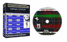 Dj Music Pro Audio Editor Sound Recorder Mixer + Video & Image Editor Suite PC