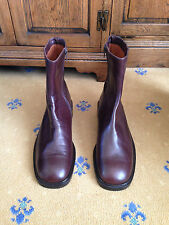 GUCCI MEN'S SHOES BROWN LEATHER CHELSEA DEALER BOOTS UK 11.5 US 12.5 EU 45.5