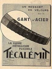 PUTEAUX RESSORTS TECALEMIT COURBEVOIE PISTONS DIATHERM LYON PARIS-RHONE 1925