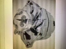NEW GM 140 HIGH AMP CHROME 1-WIRE ALTERNATOR WITH BILLET FAN AND V-GROOVE PULLEY