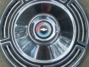 1968 Chevy Chevelle wheel covers, 3, NOS! 987250