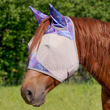Purple Fireworks Designer Fly Mask