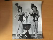 LARGE BACKSTAMPED RKO RADIO HOLLYWOOD ACTRESS: Barbara Hale and Myrna Dell Photo