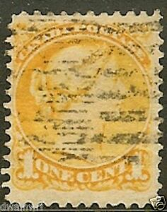 Canada Precancel stamp - Style N-35-D (Doubled)  - dw908.5