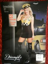 SEXY DREAMGIRL TAXI GIRL HALLOWEEN COSTUME - FANTASY OUTFIT - SMALL