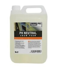 ValetPRO PH Neutral Snow Foam Schaum Vorwäsche 5 Liter Kanister (5,60€/Liter)