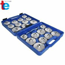 Cup Type Aluminium Oil Filter Wrench Removal Socket Remover Tool Kit Set 23pcs