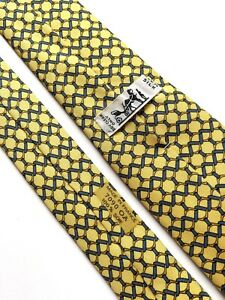 Tie hermes 7090 OA Silk 100% Authentic 100% Made In France.