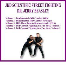 Jeet Kune Do Series (5) Dvd Set jkd combat skills strategies jun fan style