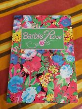 BARBIE - Quaderno VINTAGE 80s -MATTEL Italia-notebook