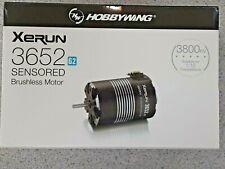 Hobbywing XERUN SCT 3652SD G2 Sensored Brushless Motor 3800kV 30401058 New!!