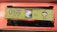 Train Miniature HO Quaker Oats Wood DS Boxcar Kit, NIB