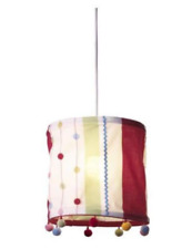 IKEA Kaxig Hanging Lamp Shade. Multi-Color Red, Green, White