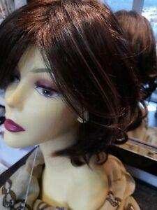 """Hothair wigs """" VENTURE """" PETITE  CHOCOLATE GLOW"""