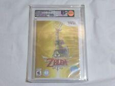 NEW The Legend of Zelda Skyward Sword Nintendo Wii VGA 85+ Gold UAE Middle East