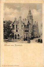 Erster Weltkrieg (1914-18) Ansichtskarten aus Hessen für Architektur/Bauwerk und Burg & Schloss
