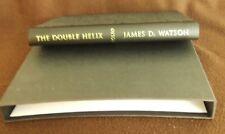 The Double Helix by James D. Watson. Int. Steve Jones. Folio Soc. Cased Hardback